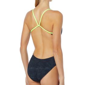 TYR W's Sandblasted Cutouttfit Swimsuit Durafast One Black